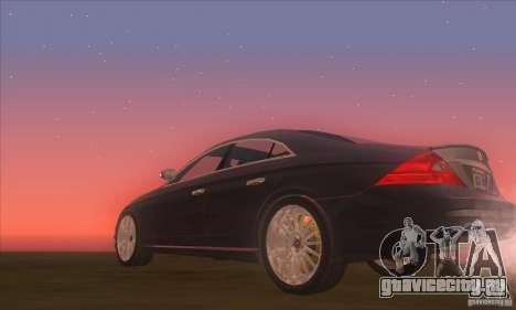 Mercedes-Benz CLS AMG для GTA San Andreas вид справа