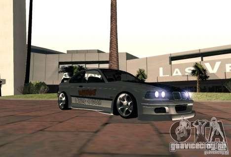 BMW M3 MyGame Drift Team для GTA San Andreas вид сзади слева