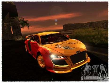 Audi R8 Calibri-Ace для GTA San Andreas