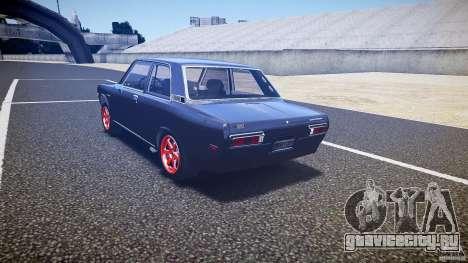 Datsun Bluebird 510 Tuned 1970 [EPM] для GTA 4 вид сзади слева