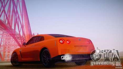 Nissan GTR R35 Tunable v2 для GTA San Andreas вид слева