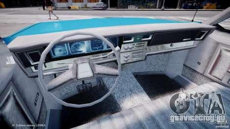 Chevrolet Impala Police 1983 v2.0 для GTA 4 вид сзади