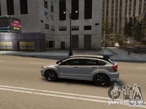 Dodge Caliber для GTA 4 двигатель