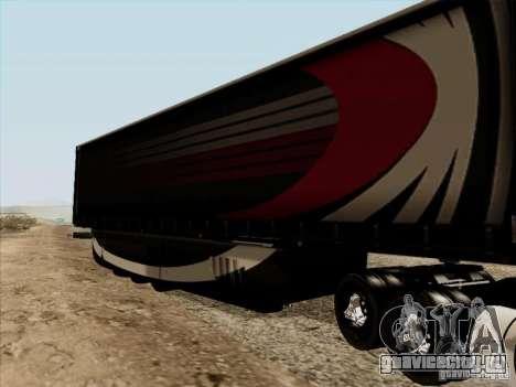 Aero Dynamic Trailer для GTA San Andreas вид справа