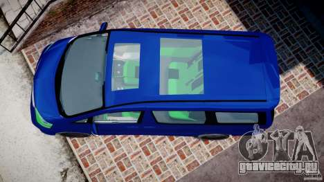 Toyota Alphard 2007 для GTA 4 вид справа