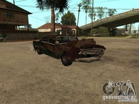 OceanicShit для GTA San Andreas вид сбоку