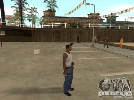 Ракетка для настольного тенниса для GTA San Andreas второй скриншот