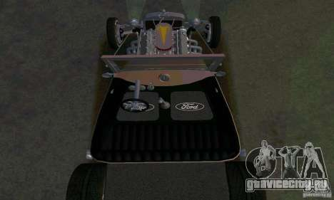 Ford T 1927 Hot Rod для GTA San Andreas вид сверху