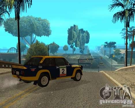 Fiat 131 Rally для GTA San Andreas вид справа
