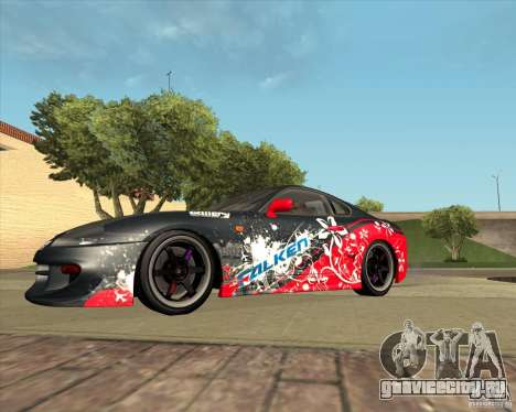 Toyota Supra by Cyborg ProductionS для GTA San Andreas вид изнутри