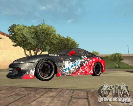 Toyota Supra by Cyborg ProductionS для GTA San Andreas вид изнутри