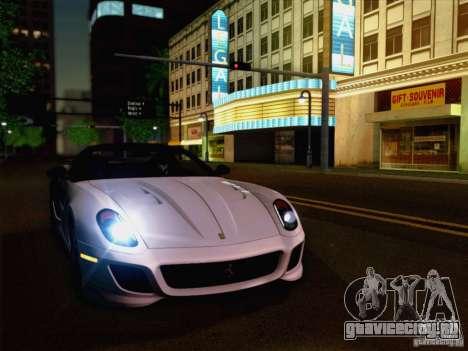New Car Lights Effect для GTA San Andreas второй скриншот