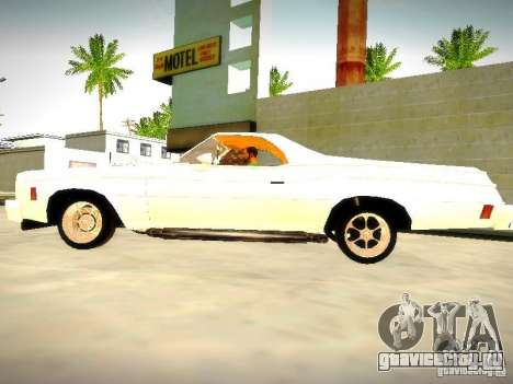 Chevrolet El Camino 1976 для GTA San Andreas вид слева