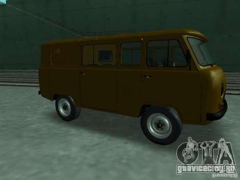 УАЗ 3909 для GTA San Andreas вид слева