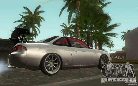 Nissan Silvia S14 Zenkitron для GTA San Andreas вид сзади