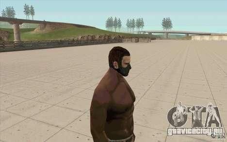 Маска Сталкера для GTA San Andreas второй скриншот