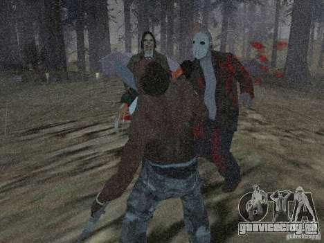 Scary Town Killers для GTA San Andreas второй скриншот