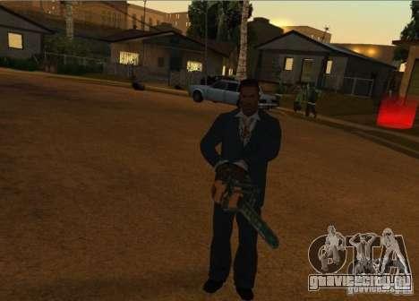 Пак Отечественного Оружия Версия 6 для GTA San Andreas пятый скриншот