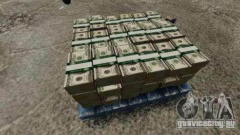 100 долларовые купюры Федерального резерва США для GTA 4 четвёртый скриншот
