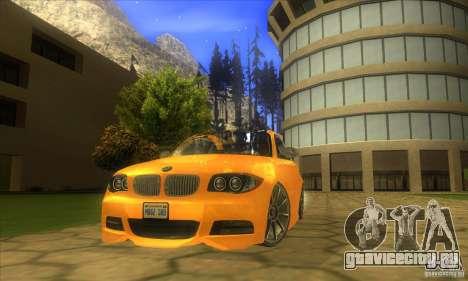 BMW 135i Coupe Custom для GTA San Andreas