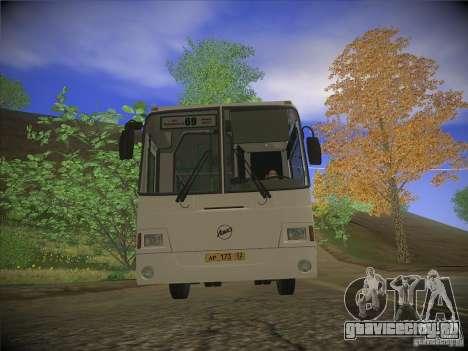 ЛиАЗ-5256.26 v.2.1 для GTA San Andreas вид слева