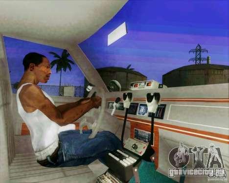 Ford Crown Victoria LTD 1991 LVMPD для GTA San Andreas вид изнутри