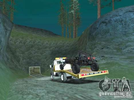 ГАЗ 3302 2003-2011г. Эвакуатор для GTA San Andreas вид слева