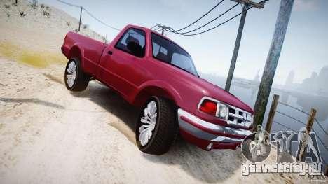 Ford Ranger для GTA 4 вид сверху