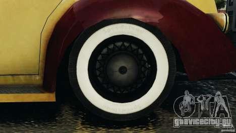 Shubert Taxi для GTA 4 вид сзади