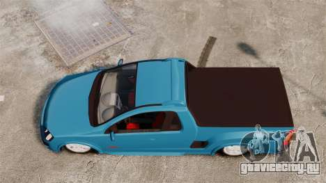 Chevrolet Montana FIXA для GTA 4 вид справа