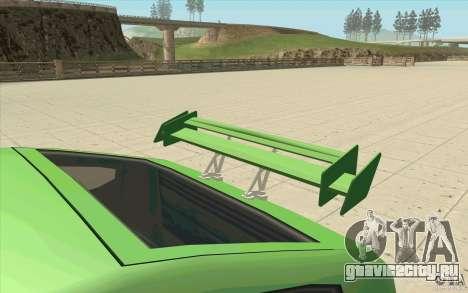 Mad Drivers New Tuning Parts для GTA San Andreas одинадцатый скриншот
