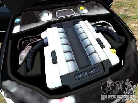 Audi A8L W12 для GTA 4 салон