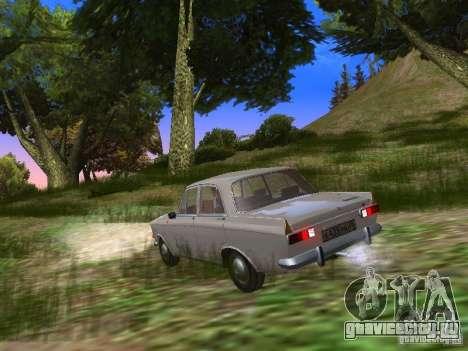 АЗЛК-412 для GTA San Andreas вид сзади слева