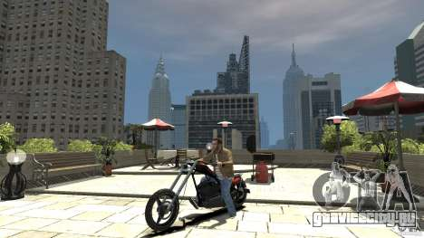 The Lost and Damned Bikes Diabolus для GTA 4 вид слева
