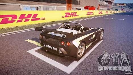 Lotus 2-11 для GTA 4 вид снизу