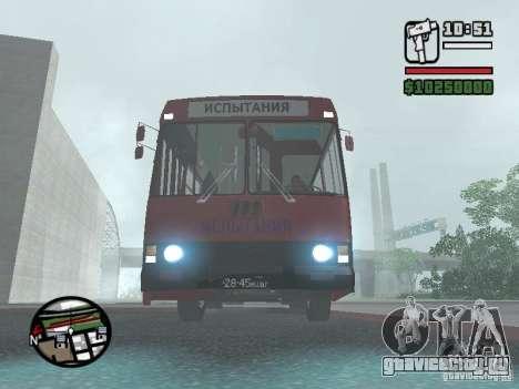 ЛАЗ 5252 для GTA San Andreas вид слева