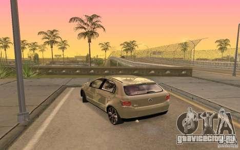 Volkswagen Gol G6 для GTA San Andreas вид слева