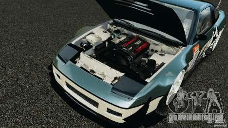 Nissan 240SX Time Attack для GTA 4 вид изнутри