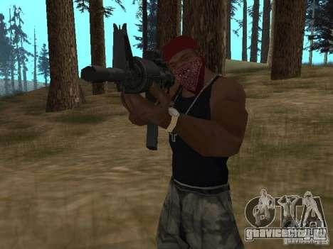 M4A1 для GTA San Andreas шестой скриншот