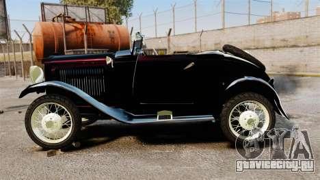 Ford Model T Sabre 1924 для GTA 4 вид слева
