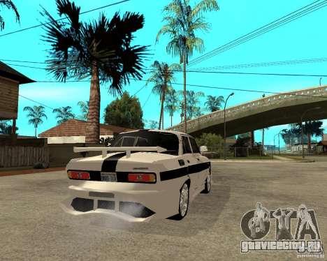 АЗЛК 2140 Underground для GTA San Andreas вид сзади слева