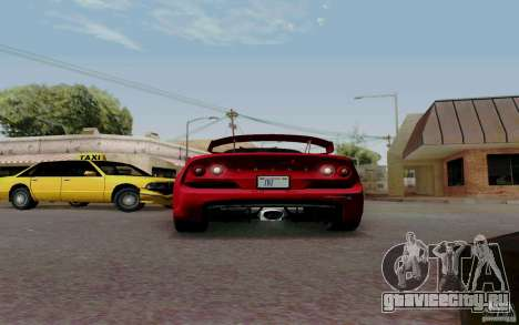 Lotus Exige S V1.0 2012 для GTA San Andreas вид справа