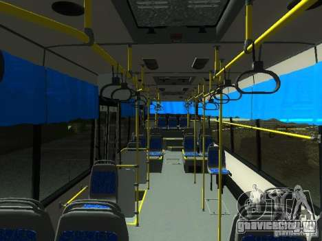 НефАЗ 5299 10-32 для GTA San Andreas вид изнутри