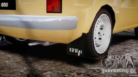 Fiat 126p 1976 для GTA 4 вид снизу