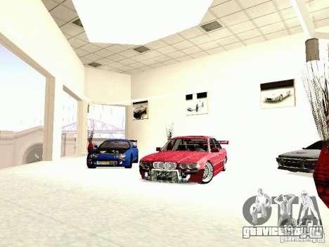 BMW 740i Tuned For Drift для GTA San Andreas вид справа