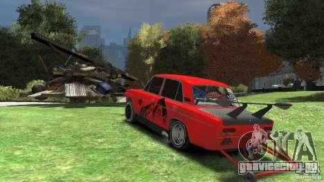 ВАЗ 2103 заточенная под драг для GTA 4 вид справа