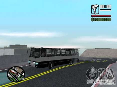Ikarus 260.06 для GTA San Andreas вид сбоку