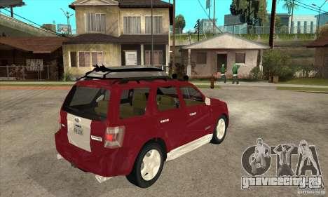 Ford Escape 2009 для GTA San Andreas вид справа