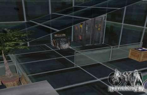 Двух этажный коттедж для GTA San Andreas третий скриншот