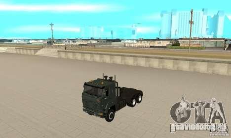 КамАЗ 65226 Tai v1.1 для GTA San Andreas вид слева